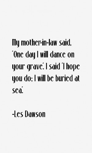 Les Dawson Quotes & Sayings