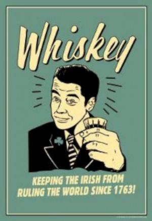 ... Keeping Irish From Running World Since 1763 Funny Retro Poster-W630