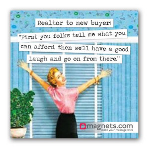 Retro Realtor Magnets are cute promotional items clients will keep on ...