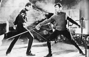 Douglas Fairbanks, Jr. and Ronald Colman in The Prisoner of Zenda ...