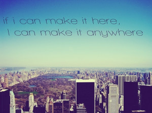 blue, city, new york, quotes, text