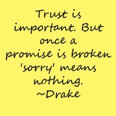 Promises Mean Nothing Quote More