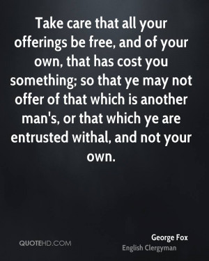 George Fox Quotes