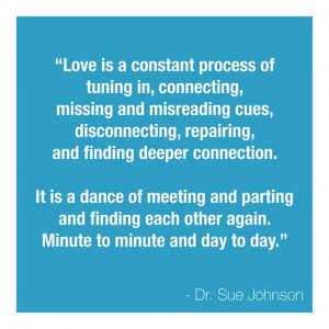 ... Love is a dance of meeting and parting and finding each other again