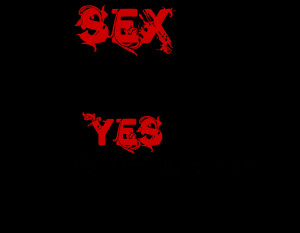 ... Quotes For Facebook » Sex Is Not The Answer Quote On Black And Red