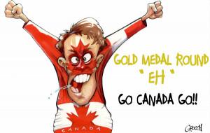 Canada vs the world - Sochi 2014