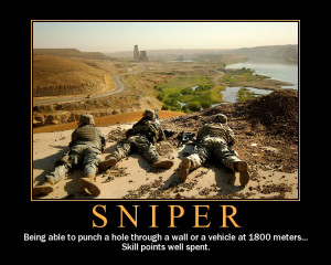 Sniper Motivational Poster