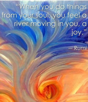 Beautiful quote by Rumi