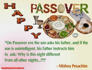Happy Passover Quotes Sayings Mesages and Pesach Greeting Pictures