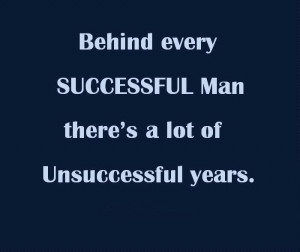 Myspace Graphics > Life Quotes > behind every successful man Graphic