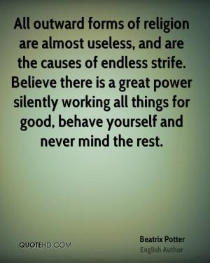 Beatrix Potter Religion Quotes