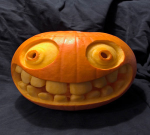 Cartoon Funny Pumpkin