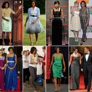 For more style advice from the first lady, keep reading.