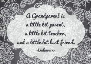 Best Happy Grandparents Day 2014 Messages For Kids : A Grandparent Is ...