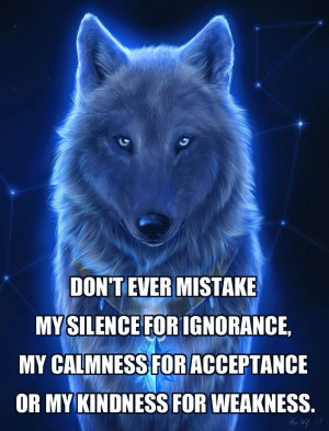 ... the wolf is not afraid of the wise wolf sayings funny angry wolf snow