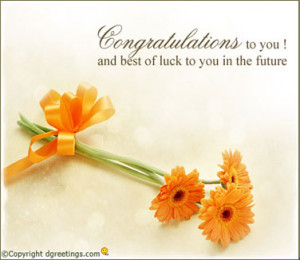 Congratulations Wishes Card