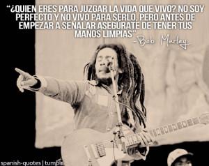Bob Marley #citas #frases #español #quotes in spanish