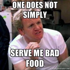 Chef Gordon Ramsay Meme