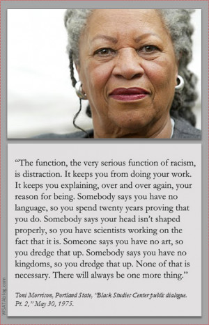 Toni Morrison's 1975 lecture on race, politics, and art freed me to ...