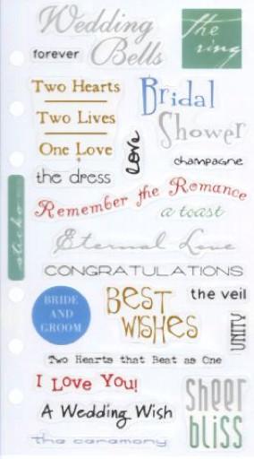 wedding scrapbook sayings