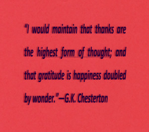 Thanksgiving Quotes 2011