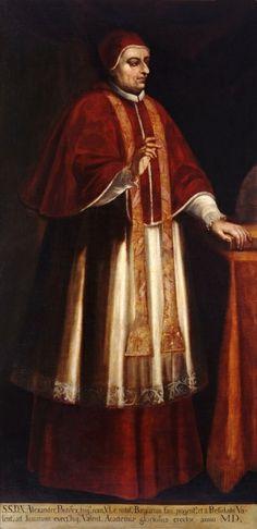 Rodrigo Borgia (Pope Alexander VI) Doesn't look much like Jeremy Irons ...