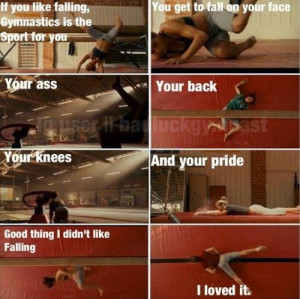 Stick It Gymnastics Movie Quotes. Missing gymnastics like crazy lately ...