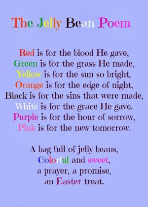 jelly beans Black Religious Poems