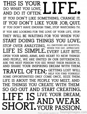Life Quotes – Best Quotes about Life