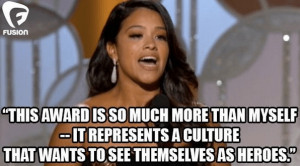 The Star Of 'Jane The Virgin' Just Won A Golden Globe And Blew ...