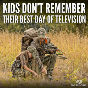 Kids don't remember their best day of television.