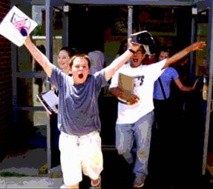 SCHOOL'S OUT!!!