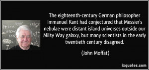 The eighteenth-century German philosopher Immanuel Kant had ...