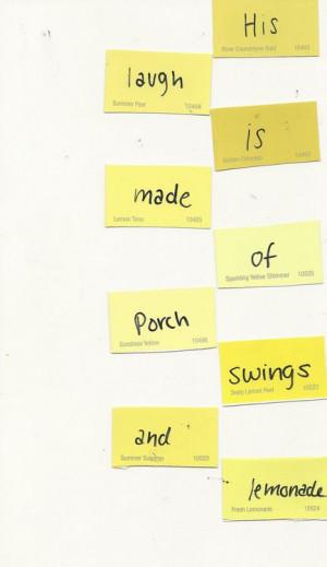 "... that nothing but clichés enter my mind."" - Augusten Burroughs, Dry"