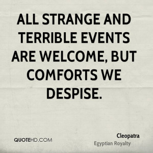Cleopatra Quotes About Love