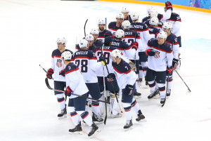 Ice Hockey - Winter Olympics Day 12 - United States v Czech Republic