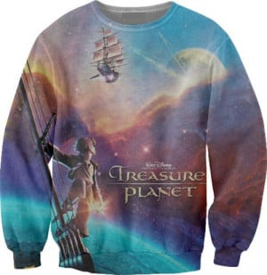 Sweater X Treasure Planet can I have a tank instead?