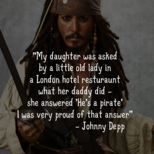 My daughter was asked by a little old lady in a London Hotel ...