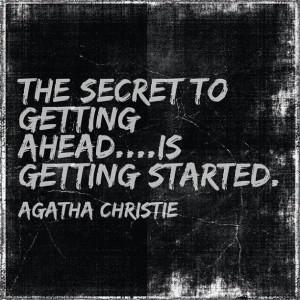 quotes #encouragement #agatha christie