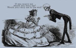 Skeleton couple MCR lyrics ♡