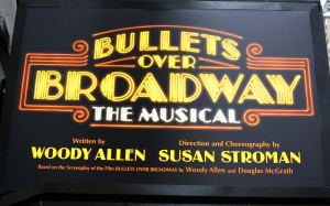 Marquee Lights Broadway Up on the marquee: bullets