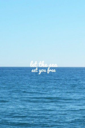 Let the sea set you free. #inspiration #quotes #tattoo