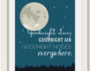 Popular items for goodnight moon