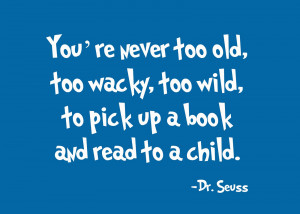 Reading Quotes Dr Seuss