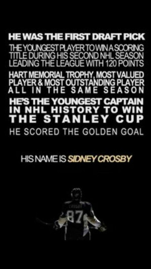 Sidney Crosby Quote