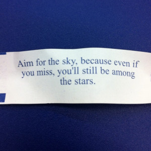Good Quote From Fortune Cookie