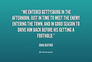 Quotes by John Buford