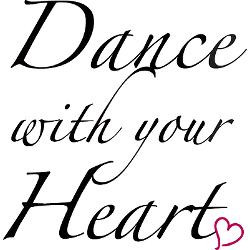 dance_with_your_heart_aluminum_license_plate.jpg?height=250&width=250 ...