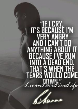 If I Cry……