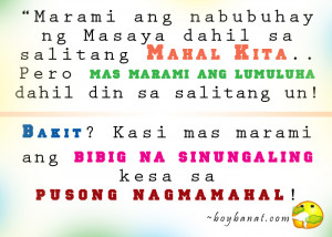 Love Story Quotes Tagalog